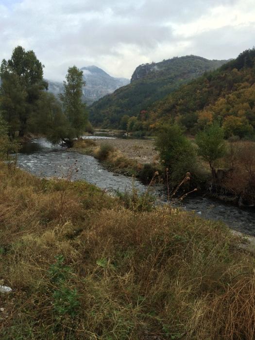 The scenic Mesta River