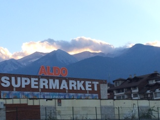 More mountains. I hear Bansko is surrounded by 3 mountain ranges.
