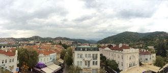 Panaromic view of Blagoevgrad