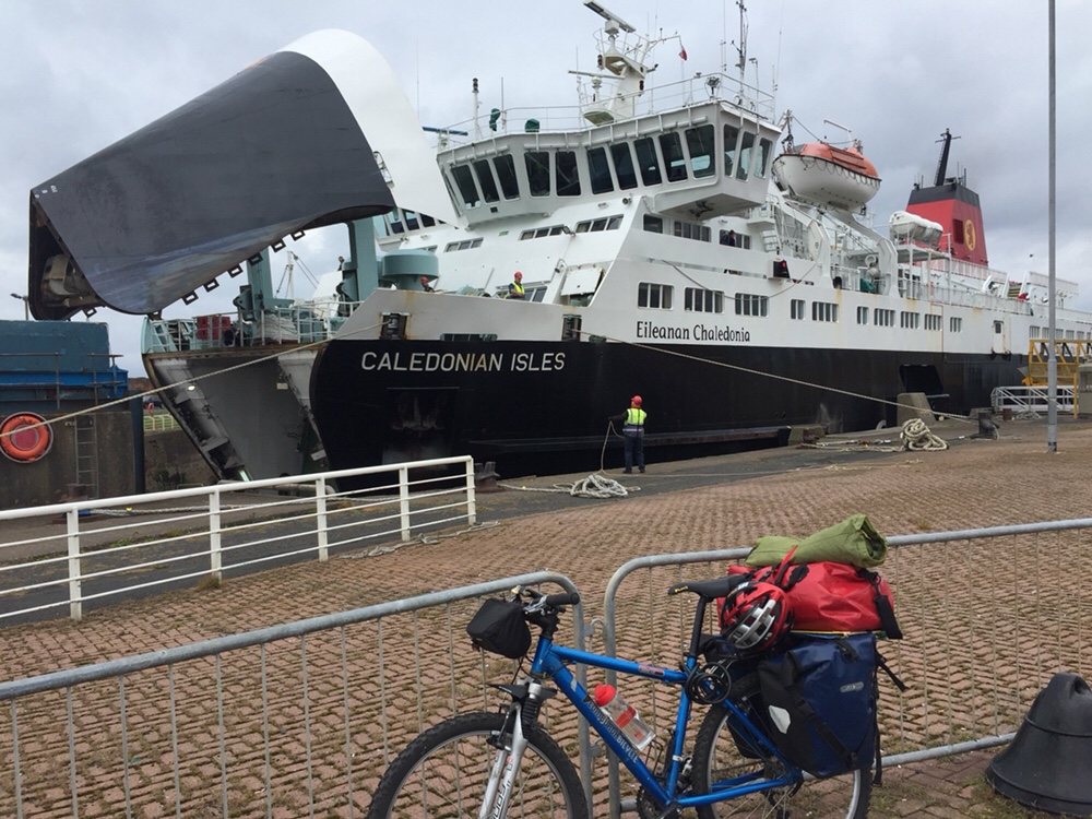 Mini Tour of Scotland – Day 3, Scotland is testing me ,Glasgow to Isle of Arran
