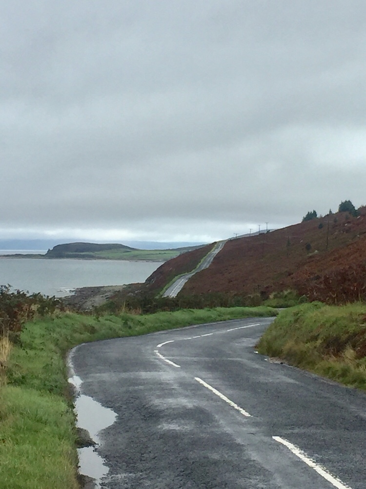 Mini Tour of Scotland – Day 4 Kildonan to Lochranza, Arran, There's beauty in bad weather.