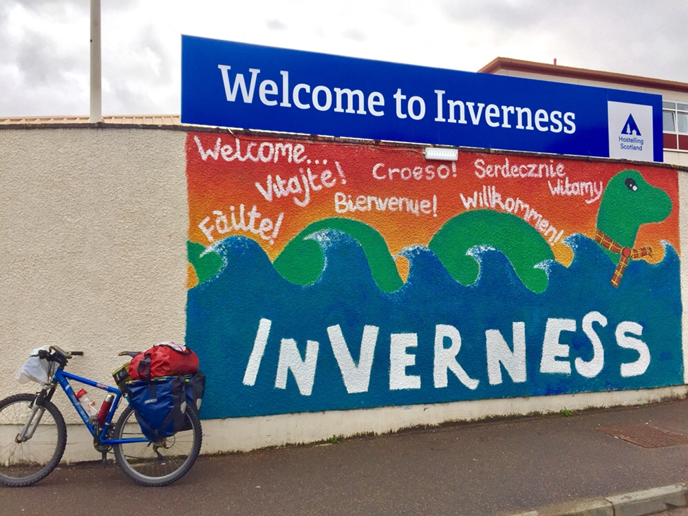 Mini Tour of Scotland – Day 16 , Invermoriston to Inverness, Last chance to spot Nessie.